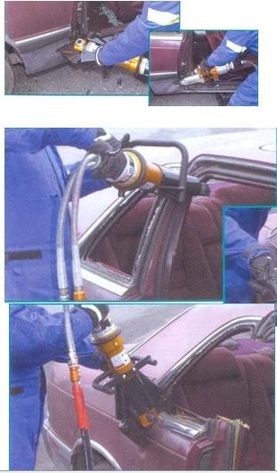 полный демонтаж всех дверей автомобиля