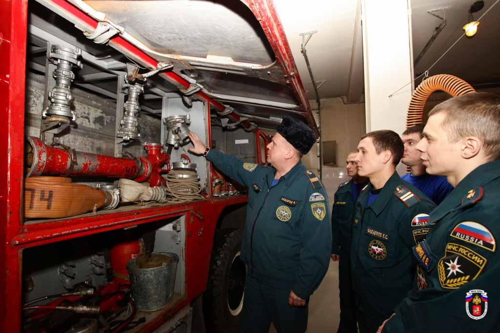 Организация эксплуатации пожарной техники