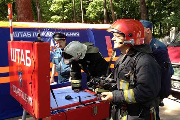 Организация управления силами и средствами на пожаре