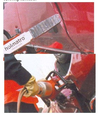 демонтаж боковой двери автомобиля