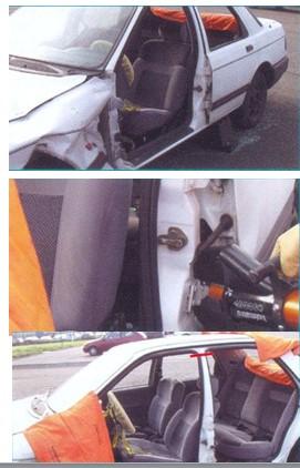технология демонтажа боковой двери автомобиля