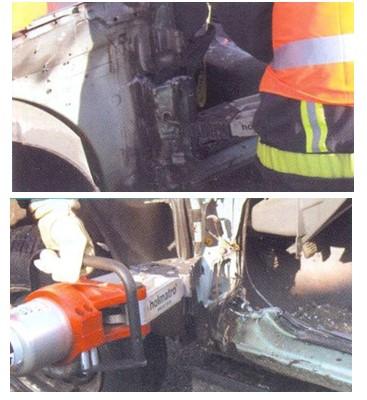 доступ к ногам пострадавшего в ДТП автомобиля