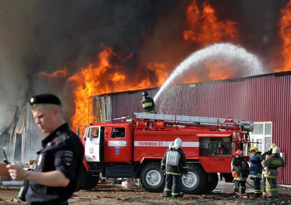 классификация действий по тушению пожаров
