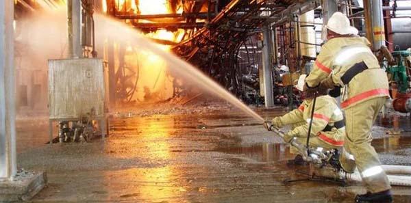 ликвидация горения в организациях химической и нефтехимической промышленности