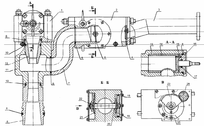 Пеносмеситель насоса НЦПК-40/100-4/400