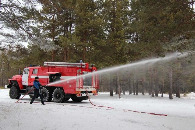 Автомобиль пожарный специального тушения
