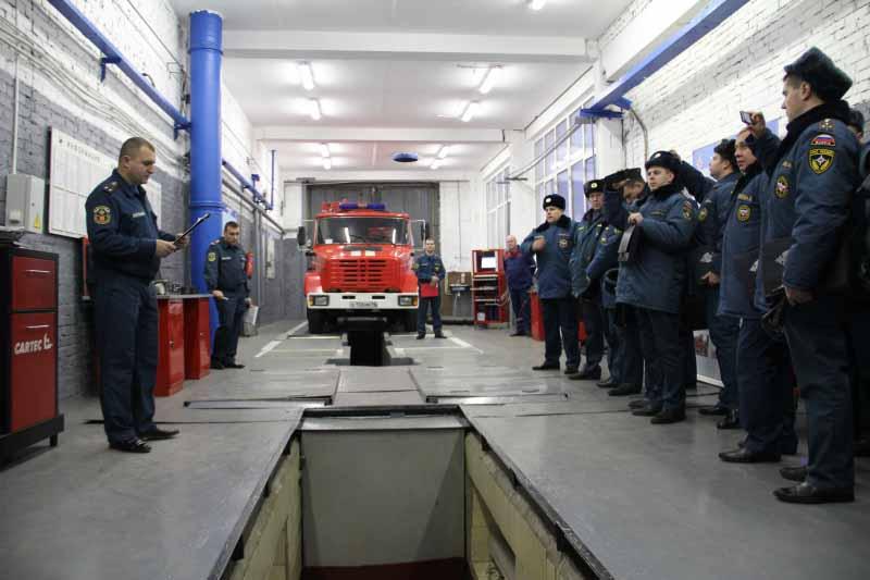 техническая служба МЧС