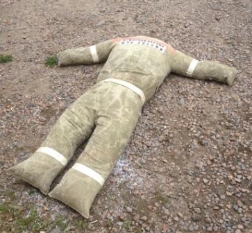 Изготовление макета пострадавшего для тренировок в СИЗОД