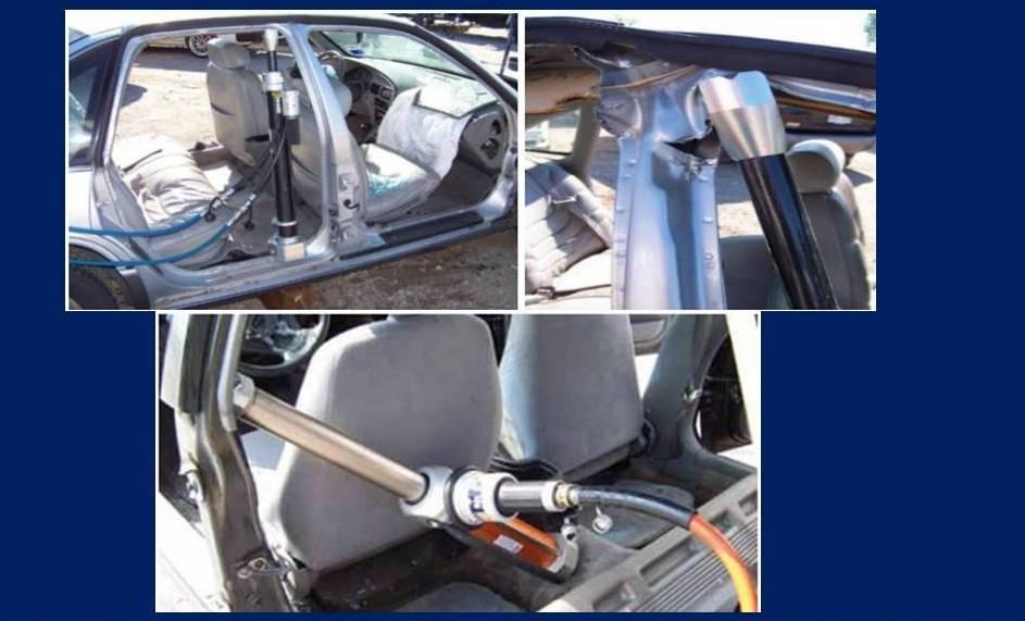 Технология демонтажа боковой стороны автомобиля 3 вариант домкрат