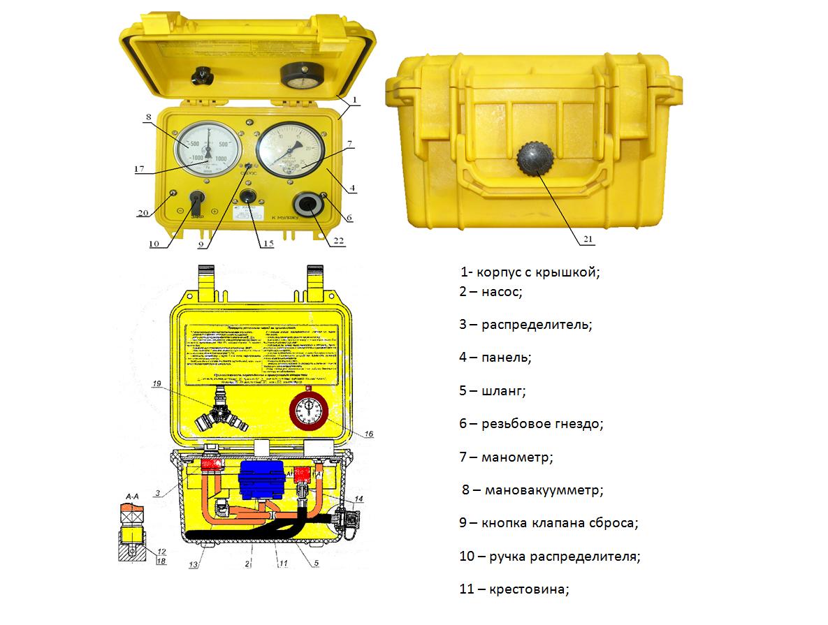 Установка контрольная КУ-9В