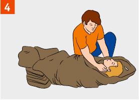 Проверить дыхание и пульс