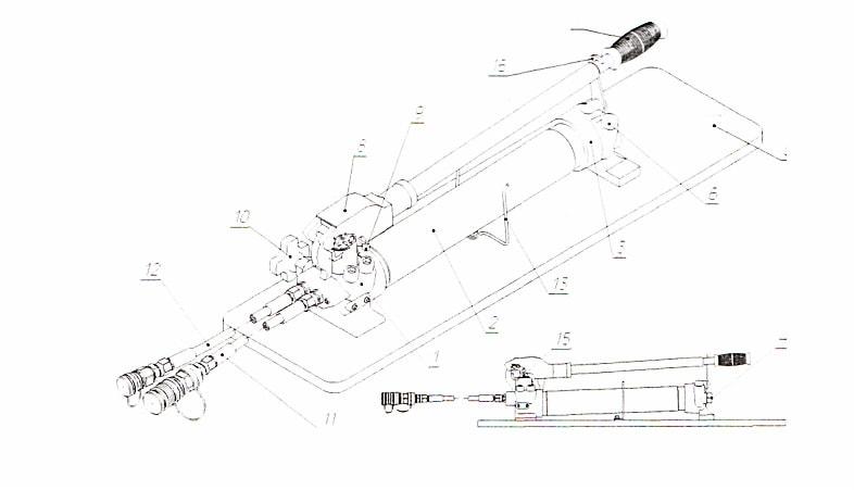 ГАСИ СПРУТ изучение насоса ручного 2-х ступенчатый НРС-2 80. ТТХ. Чертежи и схемы. Возможные неисправности. Ремонт. Техническое обслуживание