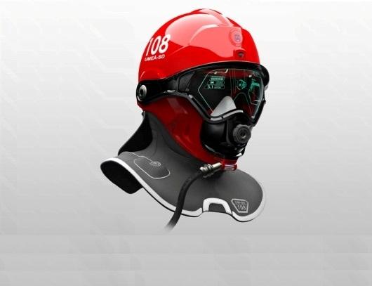 Пожарный шлем C-Thru Smoke Diving Helmet. Описание и принцип работы.