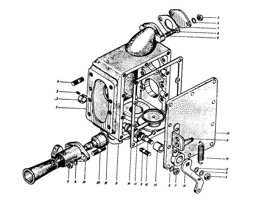 Детали газоструйного вакуумного аппарата