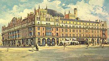 Один факт из истории гостиницы Метрополь