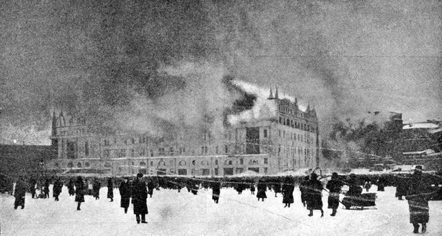 Пожар в гостинице Метрополь 14 декабря 1901 года