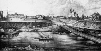 Первые опыты огнестойкой постройки домов в Тверской губернии
