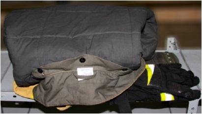 Укладка куртки БОП