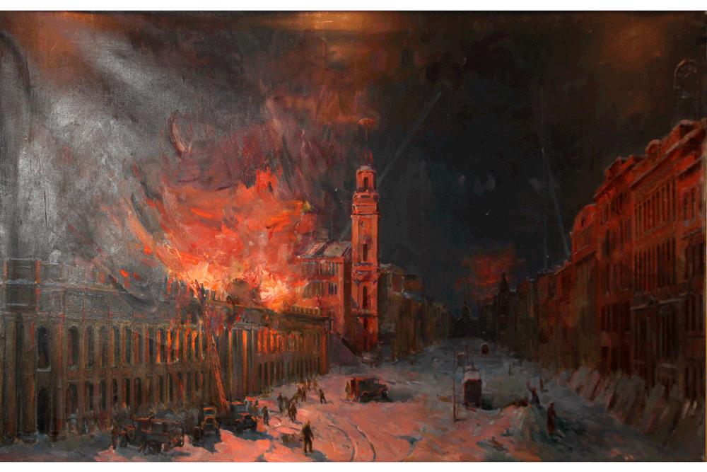 Пожар Гостиного Двора