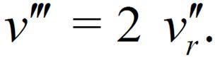 Абсолютная скорость движения верхнего колена-2