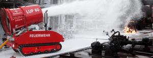 Австрийский пожарный робот LUF 60