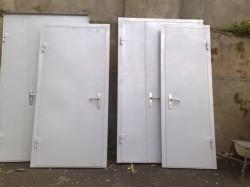 Двери противопожарные стальные