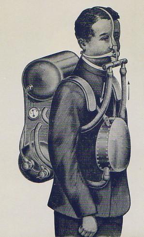 Дыхательные аппарат Шванна