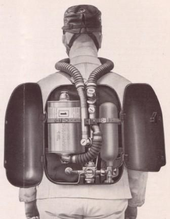 Дыхательный аппарат Auer MR II модель 1932 г.