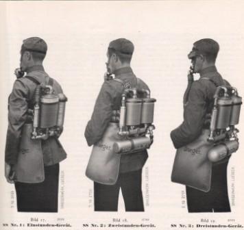 Дыхательный аппарат Drager модель 1919 г.