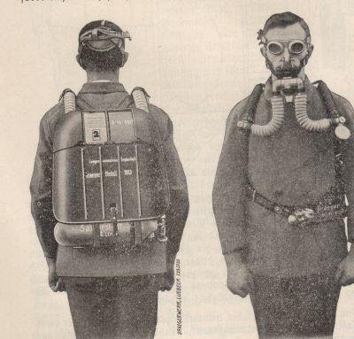 Дыхательный аппарат Drager модель 1923 г.