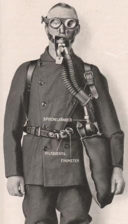 Дыхательный аппарат Drager модель 1918 г.