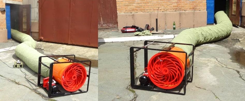Дымосос пожарный ДПЭ-7(6ОТП)