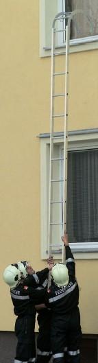 Европейский вариант пожарной лестницы штурмовки