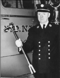 Изобретатель аварийно-спасательного инструмента Хулиган Hugh A. Halligan