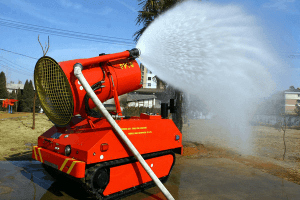 Китайский аналог пожарного робота LUF 60