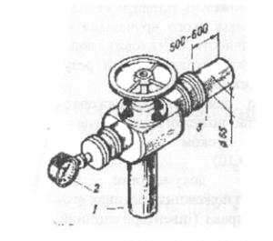 Колонка-водомер