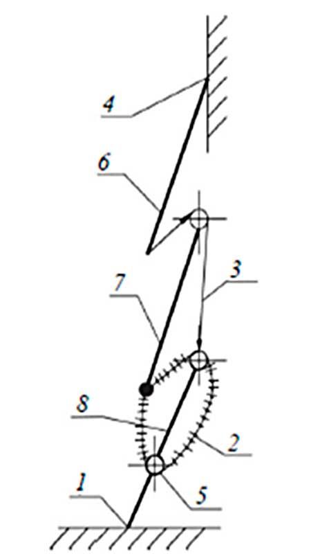 Механизм выдвигания лестницы Л-60