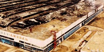 Пожар на заводе КамАЗ