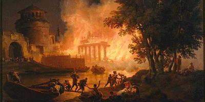 Пожар в древнем в Риме (июль 64 года)