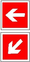 Направление к месту нахождения пожарно-технической продукции