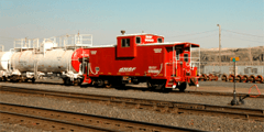 Пожарные поезда иностранного производства