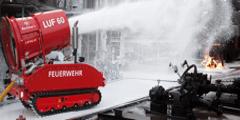 Пожарный робот дымоудаления и тушения пожара LUF 60