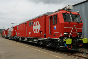 Пожарный поезд Швейцарии