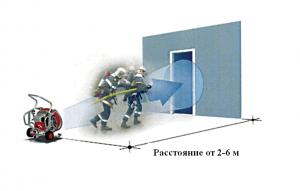 Правильная установка пожарного дымососа