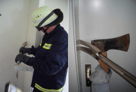 Работа Хулигана с пожарным топором