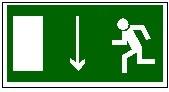 Указатель двери эвакуационного выхода