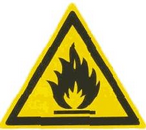 Пожароопасно. Легковоспламеня-ющиеся вещества