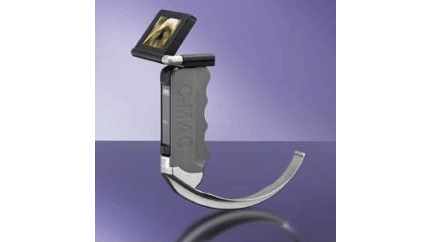 Карманный ларингоскоп с монитором C-МАС