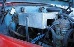 Модернизация системы охлаждения пожарных автоцистерн АЦ-40 (130)63Б и АЦ-40(131)137