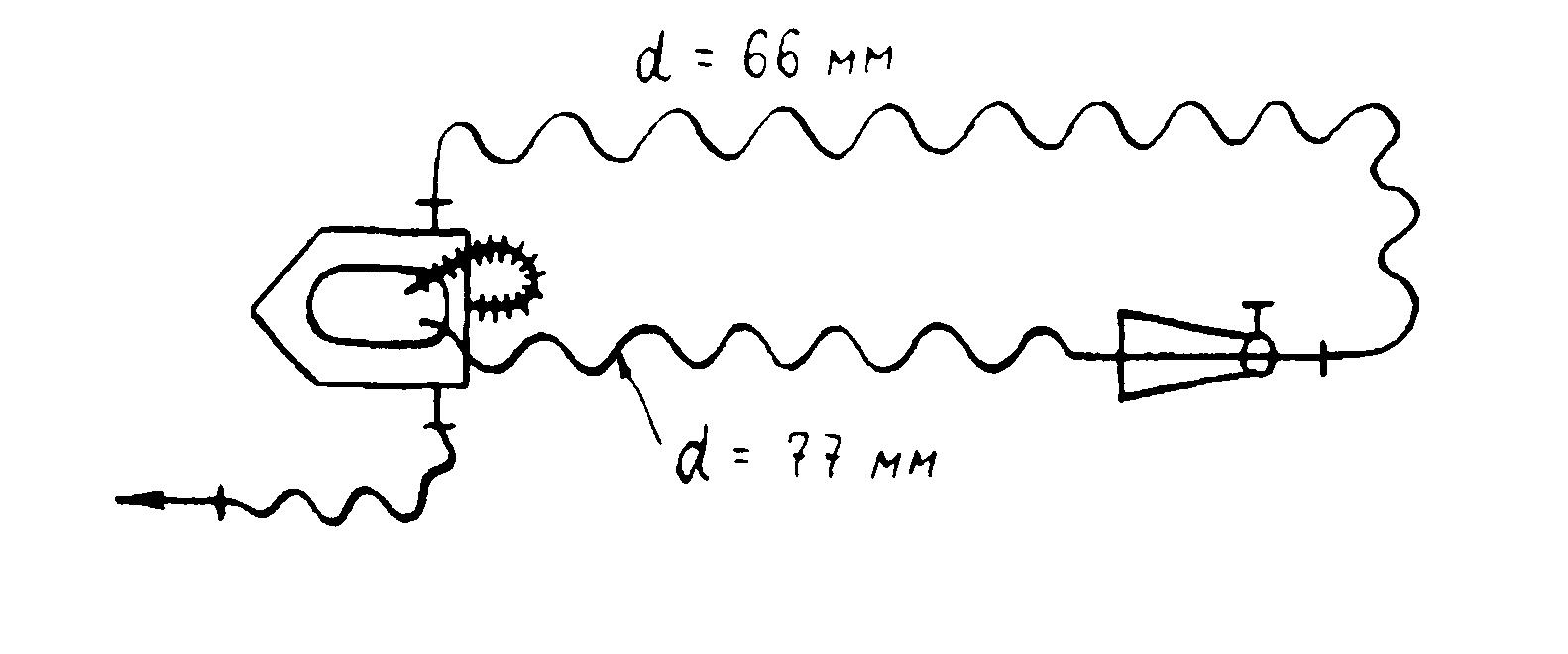 Схема при заборе воды насос-гидроэлеватор-цистерна-насос
